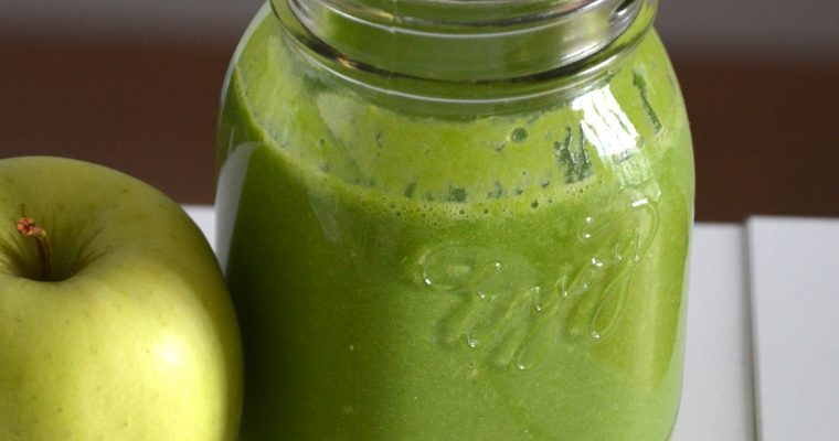 Green smoothie – Epinards & Ananas